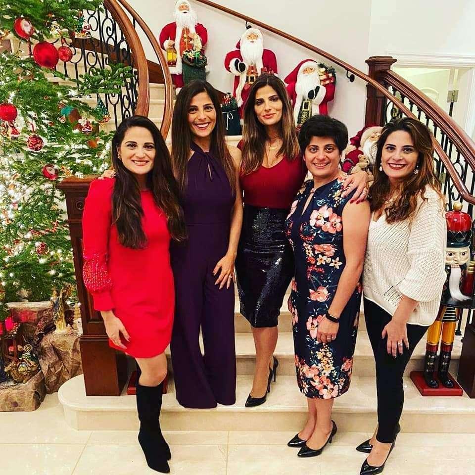 The sisters of Elyssar Press, from left to right: Nadia, Samar, Maryse, Katia, and Stephanie.